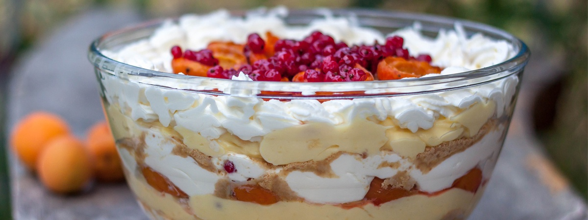 Apricot, Redcurrant and Plazma Cup